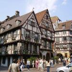 フランスとドイツの文化が入りじ混じったアルザス地方